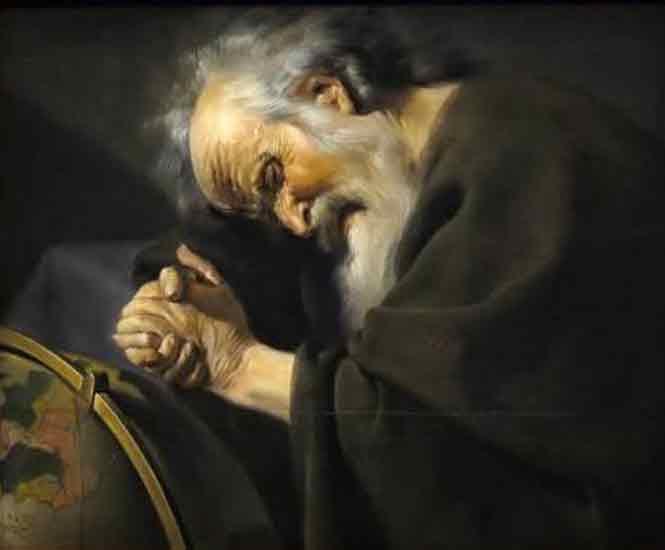 Древнегреческий философ-материалист Гераклит из Эфеса