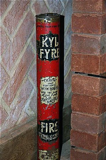 Ручной порошковый огнетушитель «KylFire», Англия