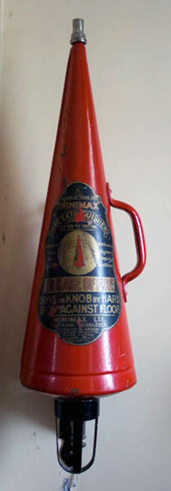 Кислотные огнетушители Minimax Spitz модели 1902